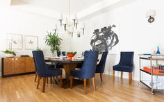 The Dining Room: A Contemporary Twist on the Traditional
