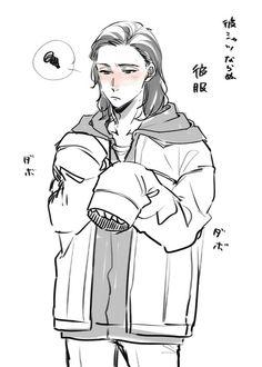Thor's jacket 2/3 || Thorki || Thor: Ragnarok || Cr: 篠森もきゅ