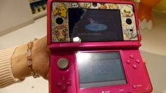 Birthday at Pokémon Center MEGA TOKYO: gift on my 3DS: SylveonNymphaliニンフィア - from #rosalys at www.rosalys.net - work licensed under Creative Commons Attribution-Noncommercial - #Anime & manga Anime & mangas Nihon no bunka Plus