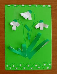 S1050011 Spring Crafts For Kids, Diy For Kids, Diy Paper, Paper Crafts, Origami, Kindergarten, Spring Activities, Spring Art, 100 Days Of School