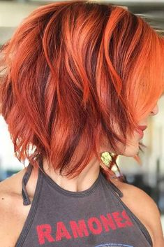 Love These Reds Redhead Short Bob Red Hair In 2019