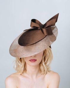 Advanced level hat by Dillon Wallwork Millinery Hats, Church Hats, Fancy Hats, Wedding Hats, Derby Hats, Summer Hats, Sun Hats, Hats For Women, Beyonce