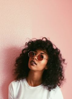 30 Cool Black Girl Hairstyles Trends in Looking for hairstyle inspiration for your hair type? Then, let us show you what we have collected and listed below. Here are 30 Cool Black Girl Hair. Hair Inspo, Hair Inspiration, Character Inspiration, Curly Hair Styles, Natural Hair Styles, Curly Hair Cuts Medium, Curly Pink Hair, Natural Beauty, Pelo Afro