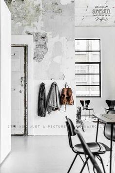 La petite fabrique de rêves: Industrial loft : Chez Renee Arns à Eindhoven ...