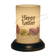 Happy Easter Lasting Lite Candle