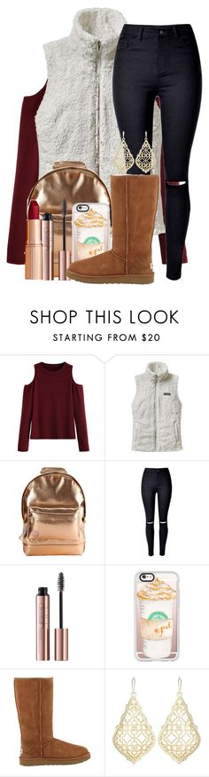 """""""day 4- fall mall w/ friends"""" by m1nty ❤ liked on Polyvore featuring Patagonia, Mi-Pac, Casetify, UGG Australia, Kendra Scott and rachmillsfallcontest2k16"""