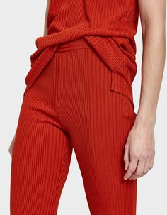 Flat front pants from Rachel Comey in Coral