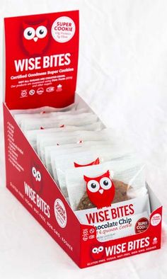 Wise bites gift baskets certified gluten free non gmo vegan wise bites super cookies extra high in protein fibre certified gluten negle Choice Image