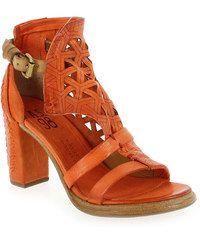 Sandales et nu-pieds Femme AirStep - AS98 en Cuir Orange
