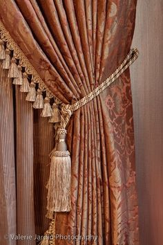 1000 images about tie backs swag holders for window for Old world curtains and drapes