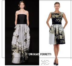 Do you prefer the maxi dress or the midi one? Rent your favorite Alberta Ferretti on drexcode!