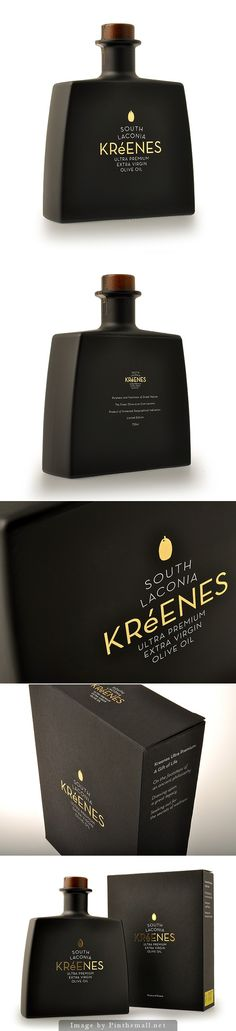 Kreenes Ultra Premium Olive Oil #packaging | by k2Design