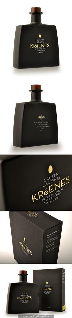 Kreenes Ultra Premium Olive Oil #packaging | by k2Design