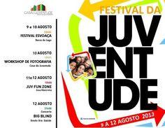 Festival da Juventude | 9 a 12 de Agosto | Esposende