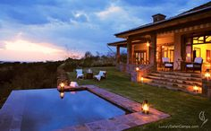 If you're not looking for Cheap hotels and you can afford to go to some of the best hotels in the world for an unforgettable experience, you should know that Singita Grumeti Reserves in Tanzania has just been named the best hotel in the world in 2011 Top 10 Hotels, Hotels And Resorts, Honeymoon Spots, Honeymoon Ideas, Serengeti National Park, Beste Hotels, Cheap Hotels, Beautiful Hotels, Beautiful Places