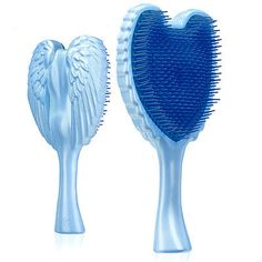 Tangle Angel Detangling Anti-static Hair Brush Silver for sale online Detangling Hair Brush, Static Hair, Angel Hair, Southport, Body Wash, Online Shopping Clothes, Tangled, Baby Blue, I Shop