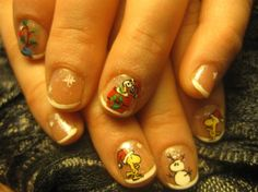 Peanuts Christmas - Nail Art Gallery by NAILS Magazine