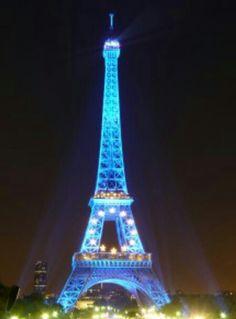 Effiel tower, Paris - France
