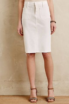 Mother Denim Pencil Skirt