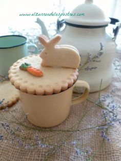 Tapa de Galleta (Conejo de Pascua)