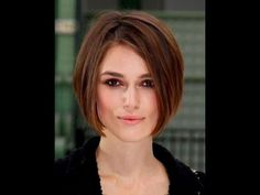 How To Cut a Long Bob with Layers - Triangle Graduation Haircut - YouTube