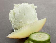 Gurken-Melonen-Sorbet