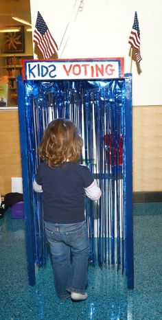 In celebration of Election Day, kids at our hospital got to cast their vote for the next president and a few other key issues, like limits on sugary drinks and which is better, cat or dog. Complete with a kid-sized voting booth and mail-in ballots for patients unable to leave their room, kids experienced democracy first-hand!