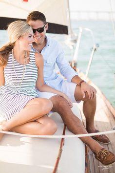 south florida luxury sailing yacht engagement | Florida Destination Wedding Photographer