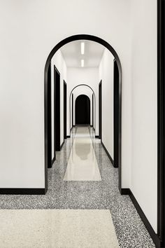 Application of terrazzo floors with Art Deco details  Simmons and Simmons Office Milano 2016 | CLS Architetti