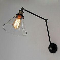 Glass Adjustable Swing Arm Wall Sconce Shade 7-Inch(Bulbs not Included) LNC http://www.amazon.com/dp/B00V64N8F8/ref=cm_sw_r_pi_dp_S4eovb1RNZZYV