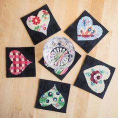 Sweetheart Coaster Pattern Books, Coasters, Wool, Knitting, Crochet, Handmade, Home Decor, Hand Made, Decoration Home