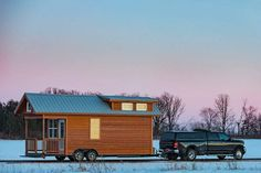 This may not be a true tiny house but I guess that is not to out of the ordinary for some of our Tiny House in a Landscape posts. The idea is to get you dreaming and your imaginations flowing.