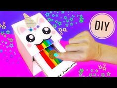 DIY MAGIC UNICORN SWALLOW COINS | Drawer piggy bank - YouTube