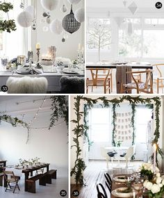 Scandinavian Christmas. Maybe I an developing a Scandi-problem? It's all so wholesome looking. It seems that the Scandinavians have no actual living crap around to mess up their oh-so-clean lines...where would I put the car keys?