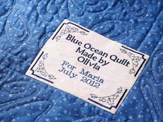 306 Best Quilt Labels Images In 2017 Quilt Labels