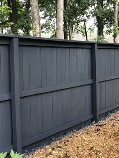 Valspar Charred Gray Semi-Transparent Stain- pops the landscaping and matches our gutters/shutters/garage door SW Peppercorn pain 7674.