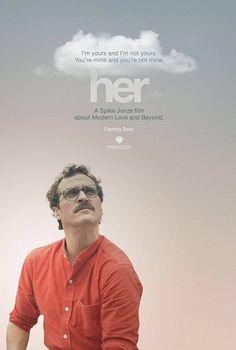Her (2013) - A Spike Jonze Love Story #Poster