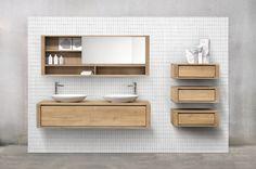 Ethnicraft Bathroom: the Shadow line.