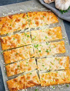 3 Ingredient Flourless Cheese Breadsticks