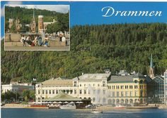 Drammen, Norway - where our new exchage student is from. Capital Of Norway, Beautiful Norway, Four Square, Places Ive Been, Postcards, Birth, Cities, Flora, Landscapes