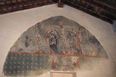 Fresco del Oratorio del Buen Pastor. Gótico internacional único en la Comunidad Valenciana.