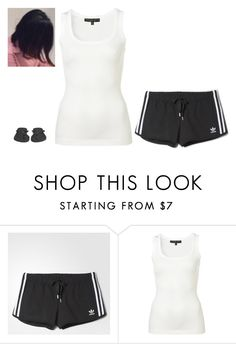 """Untitled #125"" by erin-bittencout on Polyvore featuring moda, adidas e Havaianas"