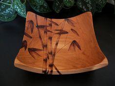Pirograbado Bambú