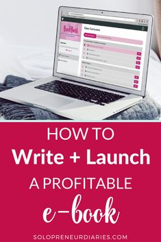 Small Business Tips | Are you looking for ways to monetize your blog? How about step-by-step instructions to write and launch a profitable e-book? Click through to learn how to take your business to the next level! #bookboss #blogging #makemoneyonline #bloggingtips #successfulblogging