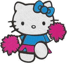 Hello kitty Machine Embroidery Design -- 0298 | phoenixembroidery - Needlecraft on ArtFire