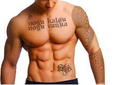 Edited, obviously, but I still love the Fijian tattoo design