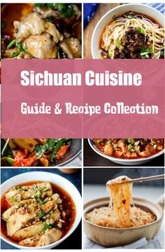 Sichuan Cuisine Guide and Recipe Collection