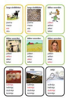 Diverse spellingkwartetten (groep 3 t/m groep 8!) Grammar, Classroom, Teaching, Collections, Poem, Preschool, Deutsch, Africa, Class Room