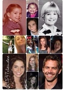 Paul walker Rebecca and meadow