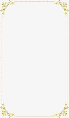 Continental exquisito marco dorado, Continental, Bien, Golden PNG y Vector
